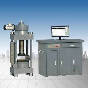 微机控制铁矿石熔烧球团压力试验机